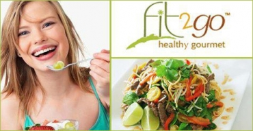 Five Days of Lunch and Dinner Delivery from Fit2Go Healthy Gourmet ($100 value)