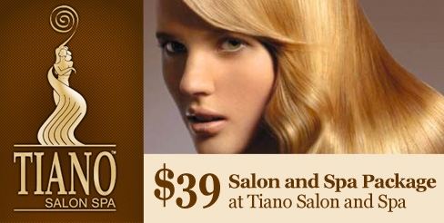 Voice Daily Deals 39 Salon And Spa Package At Tiano