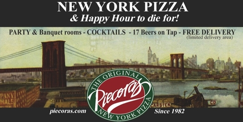 $5 for $10 at Piecora's New York Pizza