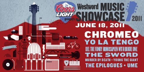 $35 for $75 VIP Ticket to Westword's 2011 Music Showcase
