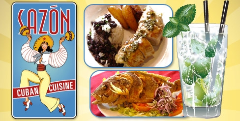 $10 for $25 Worth of Fine Food and Drinks at Sazon Cuban Cuisine