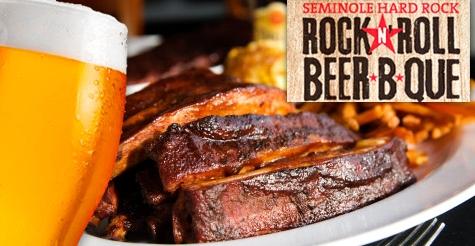 $15 for a General Admission Ticket to the Rock n'Roll Beer-b-que at Seminole Hard Rock Hotel & Casino