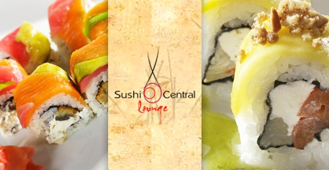 $25 for $50 worth of food and drinks at Sushi Central Lounge