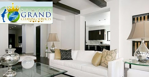 $45 for whole house cleaning from Simply Grand Cleaning