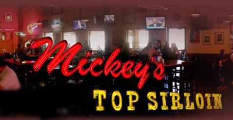 $10 for $20 of food & drinks at Mickey's Top Sirloin