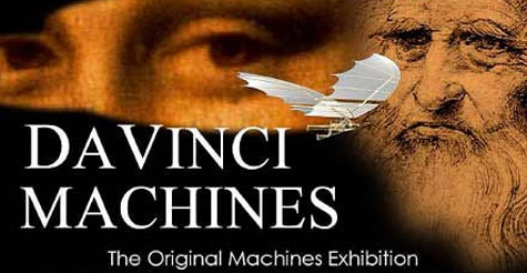 $7 for single admission ticket to Da Vinci Machines Exhibition ($14 value) - Last Chance!