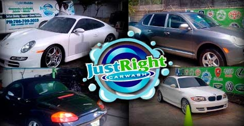 $15 for 2 full car washes from Just Right Car Wash