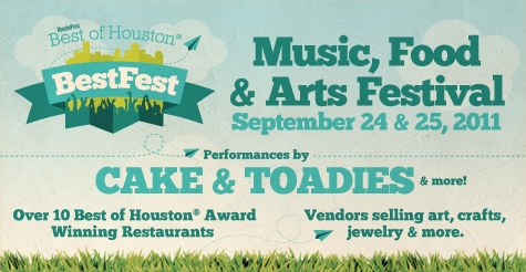 $25 GA Weekend Passes to Houston Press Best of Houston® BestFest (Reg. $50 - Day of)
