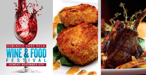 $22 for General Admission to Seminole Hard Rock Wine & Food Festival  (reg. $45)