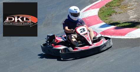 $15 for 1 Adult Kart Race at Dallas Karting Complex