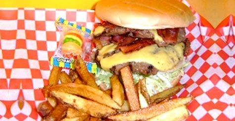 $7 for $15 at Little Bitty Burger Barn