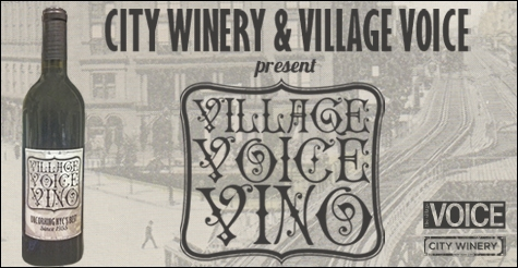 $12 for 1 bottle of Village Voice Vino from City Winery ($25 Value)