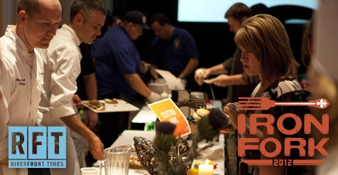 $17 for admission to the RFT's Iron Fork Event ($35 Value)