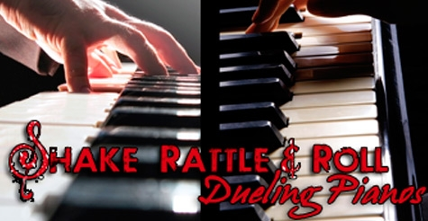 $24 for 2 tickets to a dueling piano show plus two drinks ($48 Value)