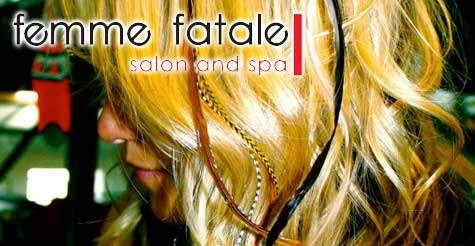 $12 for Feather Extension at Femme Fatale Salon & Spa