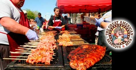 $10 for 2 Tickets to The Great American Barbeque and Beer Festival