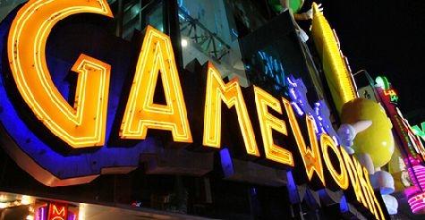 $15 for 4 hours unlimited video game play at GameWorks