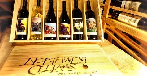 $49 for 2 bottle gift set and wine tasting for two at Northwest Cellars