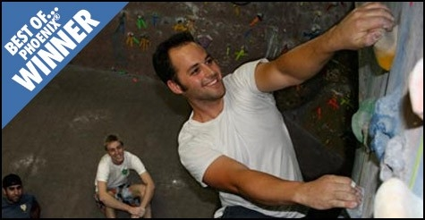$9 Rock Climbing Day Pass with gear only at Phoenix Rock Gym