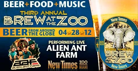 $15 for one GA ticket to Brew at the Zoo