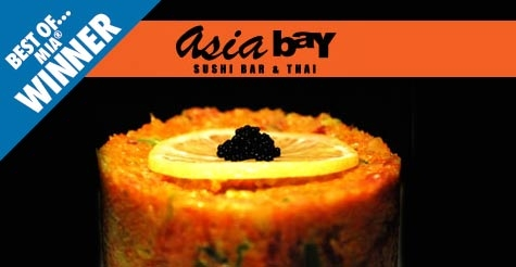 $20 for $40 worth of food & drinks at Asia Bay