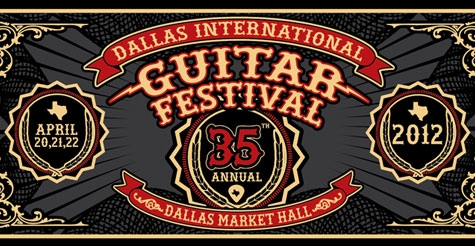 $11 one day admission ticket to Dallas International Guitar Festival