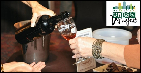 $26 for a ticket to Colorado Urban Winefest, Saturday, June 9th