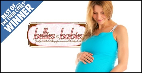 $10 for $20 worth of clothing at Bellies to Babies