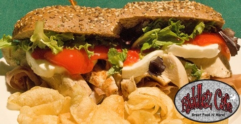 $10 for $25 worth of food & drink at Riddlez Cafe