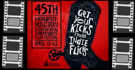 $12 for two tickets to Worldfest Houston International Film Festival Matinee or Evening Shows