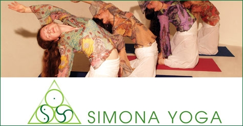 $35 for 5 yoga classes of your choice at Simona Yoga