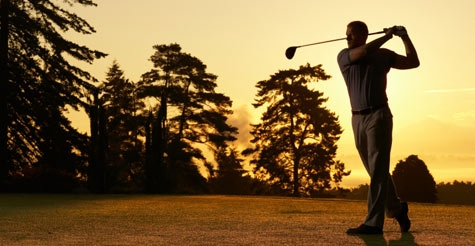 $25 for 18 holes of golf for 2 people plus a cart at Sunset Golf Club