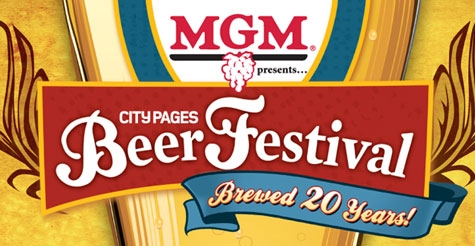 $15 for 1 GA ticket to City Pages Beer Festival - June 2, 2012