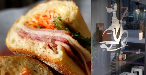 $5 for a sandwich at Xe May Sandwich Shop