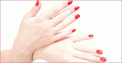 $25 for a gel manicure at Polish Nail Salon