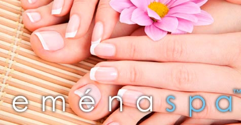 $25 for a Mani/Pedi at Emena Spa