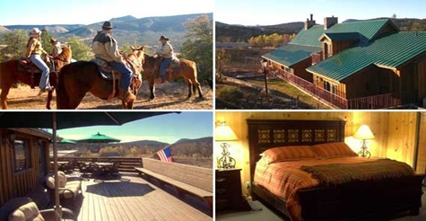 $195 for a 2-night getaway for two at Cherry Creek Lodge