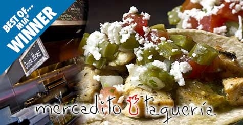 $10 for $20 worth of food & drinks at Mercadito Taqueria