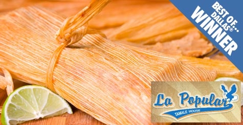 $10 for $20 of Food and Drink at La Popular Tamale House