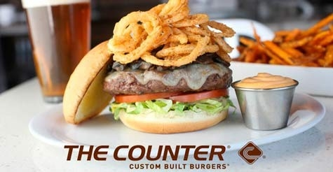 $15 for $30 at The Counter Custom Built Burgers