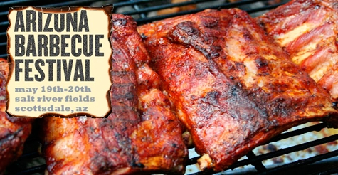$12 for 2 GA tickets to the AZ BBQ Festival