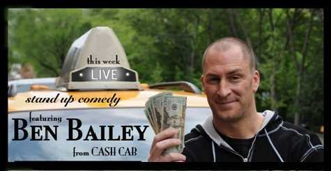 "$20 for 2 tickets to see Host of ""Cash Cab"" Ben Bailey at Stand Up Live"
