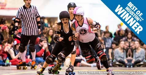 $7 ticket to the Houston Roller Derby on May 19th