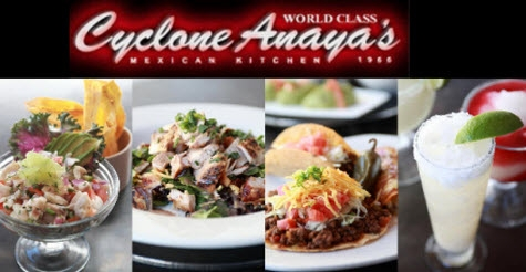 $15 for $30 at Cyclone Anaya's Mexican Kitchen