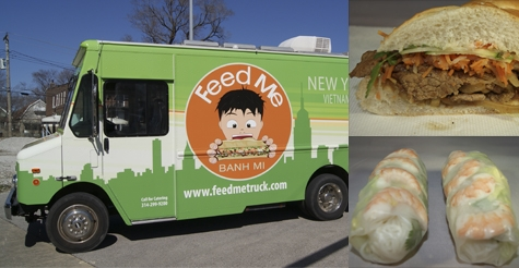 $7 for $15 of food & drink at Feed Me Food Truck