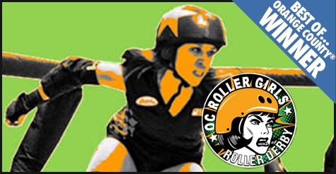 $6 for one ticket to OC Roller Girls, May 19th