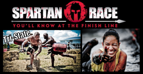 $47 for registration to Tri-State Super Spartan Race on Sept 8 or 9