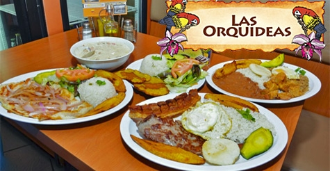 $12 for $25 worth of food & drinks at Las Orquideas Restaurant