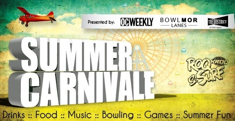 $10 for 2 tickets to OC Weekly's Summer Carnivale