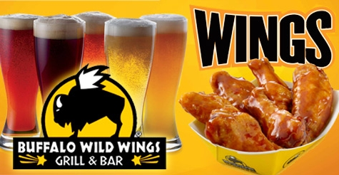 $12 for $25 worth of food & drinks at Buffalo Wild Wings